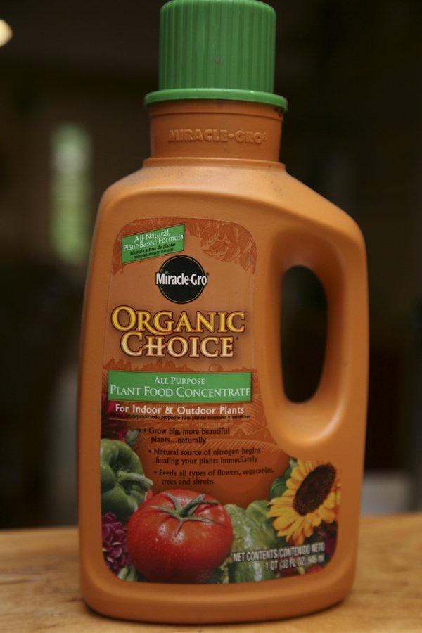 Organic Miracle Grow