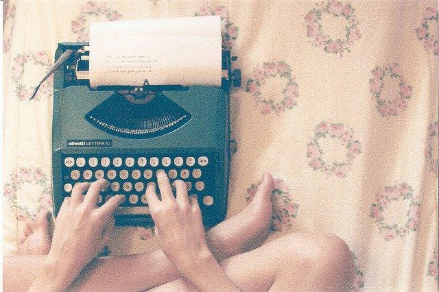 I write